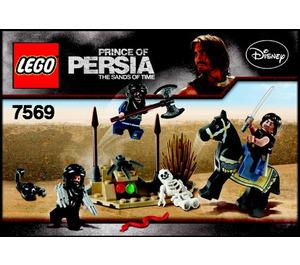 LEGO Desert Attack Set 7569 Instructions
