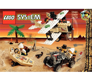 LEGO Desert Expedition Set 5948 Instructions