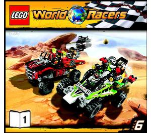 LEGO Desert of Destruction Set 8864 Instructions