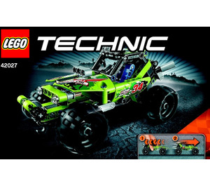 LEGO Desert racer Set 42027 Instructions
