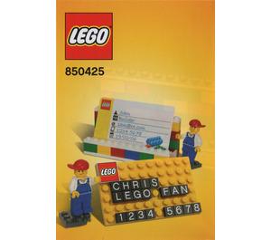 LEGO Desk Business Card Holder (850425) Instructions