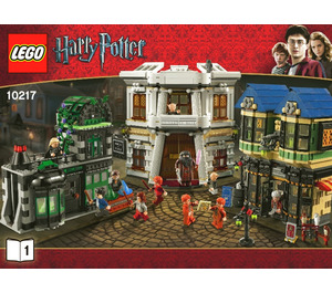 LEGO Diagon Alley Set 10217 Instructions