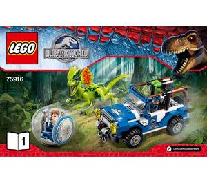 LEGO Dilophosaurus Ambush Set 75916 Instructions