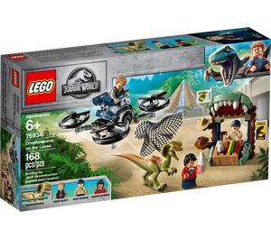LEGO Dilophosaurus on the Loose Set 75934 Packaging
