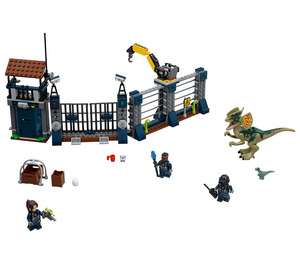 LEGO Dilophosaurus Outpost Attack Set 75931