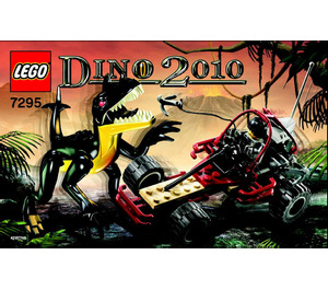 LEGO Dino Buggy Chaser Set 7295 Instructions