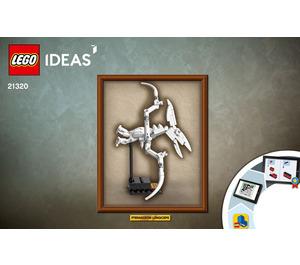 LEGO Dinosaur Fossils Set 21320 Instructions