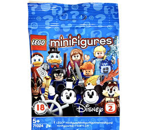 LEGO Disney Minifigures Series 2 Random Bag Set 71024-0 Packaging
