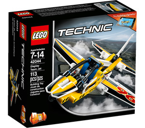 LEGO Display Team Jet Set 42044 Packaging