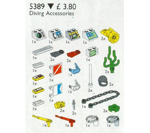 LEGO Diving Accessories Set 5389