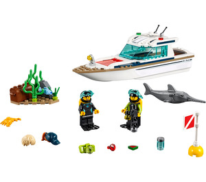LEGO Diving Yacht Set 60221
