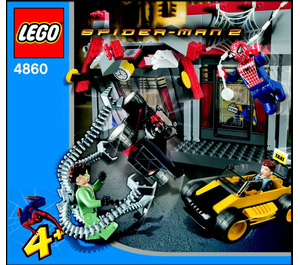 LEGO Doc Ock's Cafe Attack Set 4860 Instructions