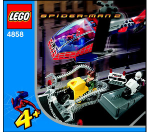 LEGO Doc Ock's Crime Spree Set 4858 Instructions