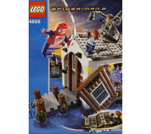 lego spiderman hideout instructions
