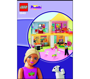 LEGO Doll House Set 5940 Instructions