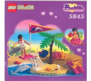 LEGO Dolphin Show Set 5845 Instructions