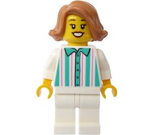 LEGO Donut Saleswoman Minifigure