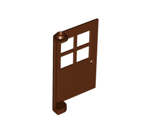 LEGO Door 1 x 4 x 5 with 4 Panes with 2 Points on Pivot (3861)