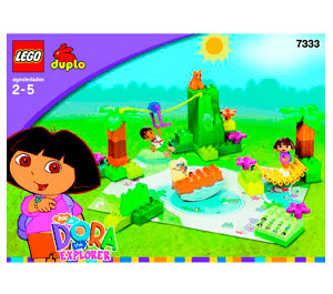 LEGO Dora and Diego's Animal Adventure Set 7333 Instructions