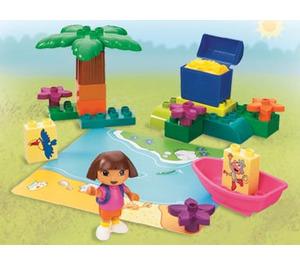 LEGO Dora's Treasure Island Set 7330