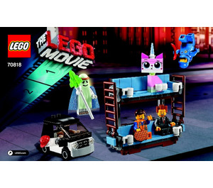 LEGO Double-Decker Couch Set 70818 Instructions