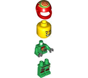 LEGO Douglas Elton / El Fuego Minifigure