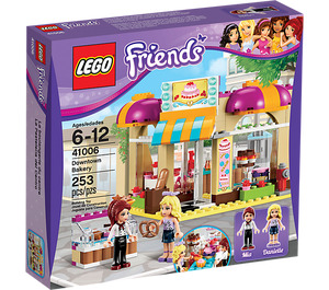 LEGO Downtown Bakery Set 41006 Packaging