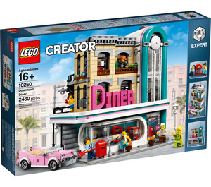 LEGO Downtown Diner Set 10260 Packaging
