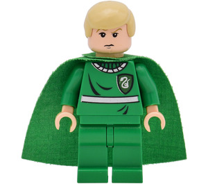 LEGO Draco Malfoy in Quidditch kit with Light Flesh head and hands Minifigure