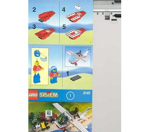 LEGO Dragon Fly Set 2147 Instructions