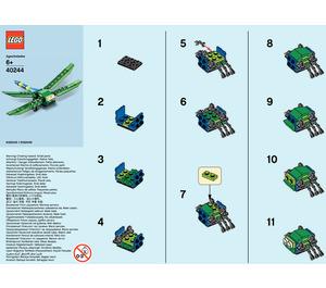 LEGO Dragonfly Set 40244 Instructions