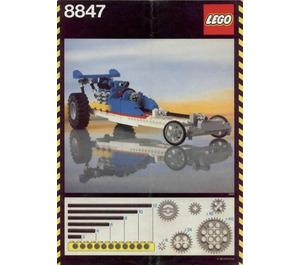 LEGO Dragster Set 8847