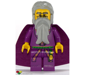 LEGO Dumbledore with Purple Cape Minifigure