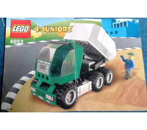 LEGO Dump Truck Set 4653 Instructions