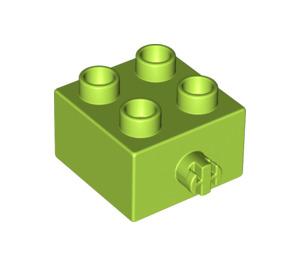 LEGO Duplo Brick 2 x 2 with Pin (3966)