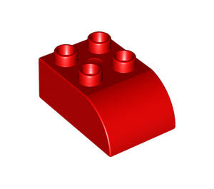 LEGO Duplo Brick 2 x 3 with Curved Top (2302)