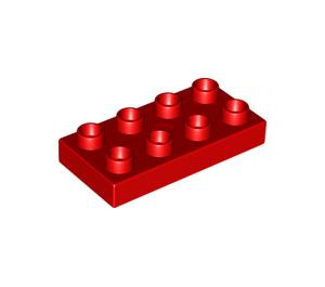 LEGO Duplo Plate 2 x 4 (4538 / 40666 / 89464)