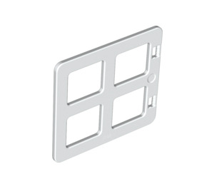 LEGO Duplo Window 4 x 3 with Bars with Same Sized Panes (90265)
