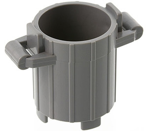 LEGO Dustbin with 2 Lid Holders (2439)