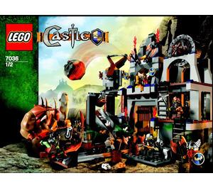 LEGO Dwarves' Mine Set 7036 Instructions