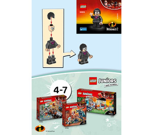 LEGO Edna Mode Set 30615 Instructions