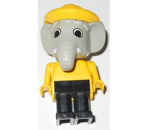 LEGO Edward Elephant Fisherman Fabuland Figure