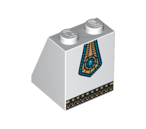 LEGO Egyptian Queen Slope 65° 2 x 2 x 2 with Centre Tube (97189)