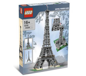 LEGO Eiffel Tower  Set 10181 Packaging