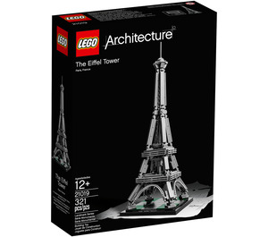 LEGO Eiffel Tower Set 21019 Packaging