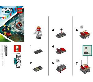 LEGO El Fuego's Stunt Cannon Set 30464 Instructions
