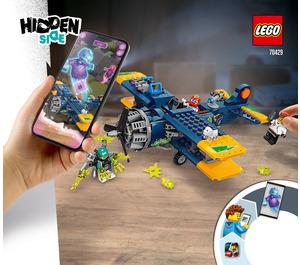 LEGO El Fuego's Stunt Plane Set 70429 Instructions