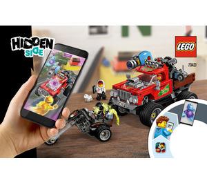 LEGO El Fuego's Stunt Truck Set 70421 Instructions