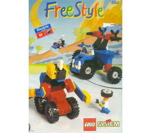 LEGO Electric Freestyle Set, 6+ Set 4163