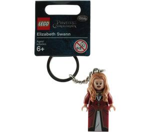 LEGO Elizabeth Swann Key Chain (853188)